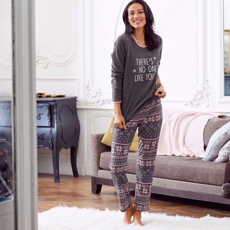 Le pyjama polaire Blancheporte, il va nous faire aimer le froid…