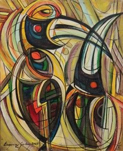 Eugeniusz Gerlach - Malarstwo