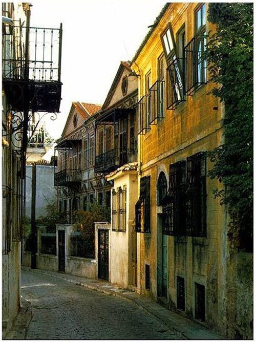 Backstreet in the town of Xanthi