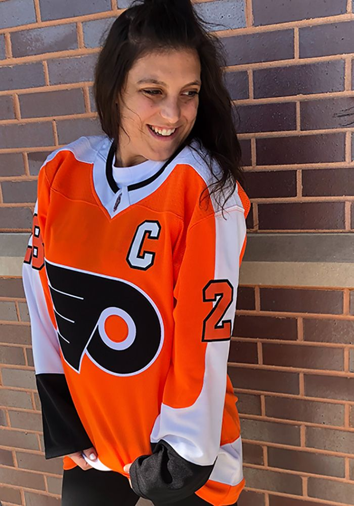 Adidas Claude Giroux Philadelphia Flyers Mens Orange 2017 Home ...
