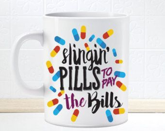 Slingin' Pills To Pay The Bills Pharmacist by TheScribbleStudio