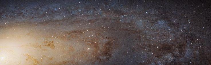 New HD panoramic view of the Andromeda galaxy, our galactic neighbor: http://go.nasa.gov/1BCXLnu #aas225 @NASA_Hubble