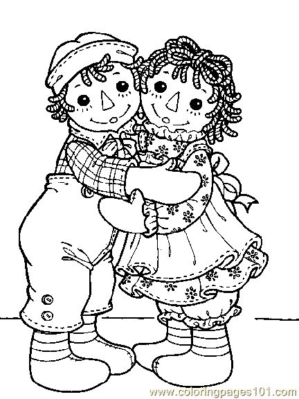 raggedy ann cartoon coloring pages raggedy ann and andy001 2 cartoons