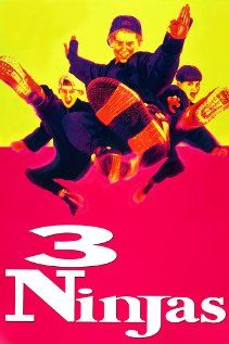 3 ninjas - Each year, three brothers Samuel, Jeffrey and Michael Douglas visits their Japanese grandfather, Mori Shintaro whom the boys affectionately refer to as Grandpa.