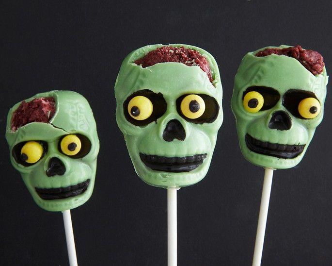 Halloween Zombie Cake Pops How-To: