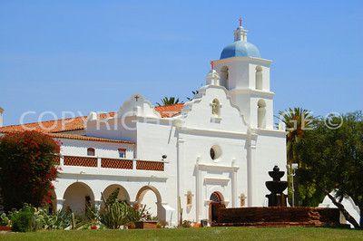 1798 Mission San Luis Rey de Francia