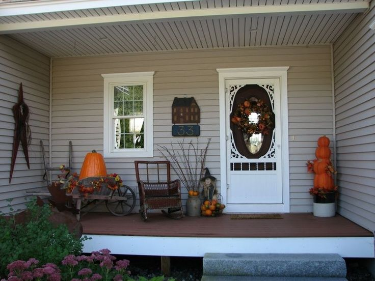 Primitive Front Porch Ideas - Bing Images | I Love Fall ...