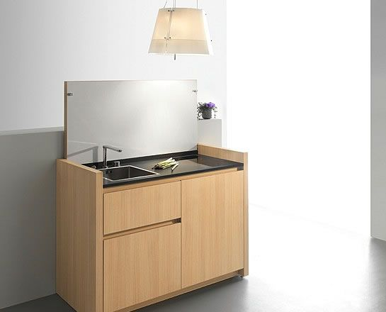 cuisine K1 - compact kitchens | mini cuisine | kitchenette | bespoke award-winning design | kitchoo.com