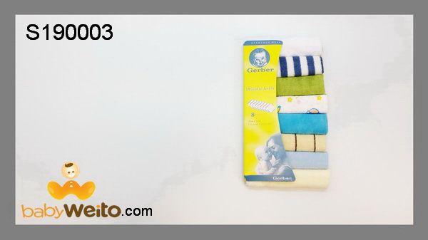 S190003  Sapu tangan gerber  Dari bahan handuk  Warna sesuai gambar  IDR 45*