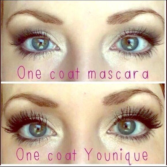 "LAST ONE YOUNIQUE 3-D FIBER LASH MASCARA NO MORE FAKE LASHES!  NO MORE GLUE!!  NO MORE ""EYELASH MALFUNCTIONS""!!  TAKE YOUR NATURAL LASHES TO A NEW LENGTH!!  ✳️BRAND NEW✳️ AND ❌ NO TRADES❌ YOUNIQUE Makeup Mascara"