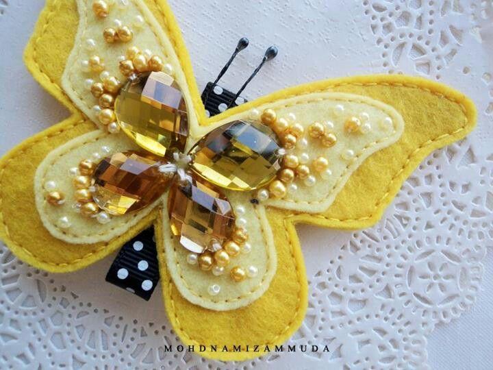 Cute butterfly by Mohd Namizan Muda