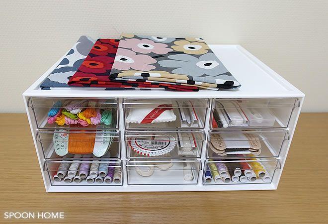 ニトリのレターケース9個引き出しの収納ブログ画像 収納 アイデア グッズ 収納 収納