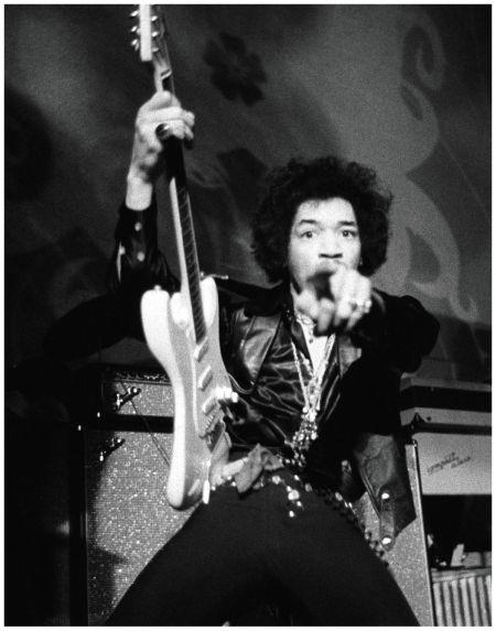 Jimi Hendrix San Francisco 1968  Photo Baron Wolman