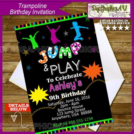 trampoline birthday party sky high sports charlotte nc