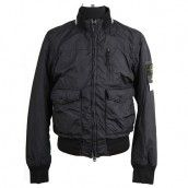 Stone Island Garment Dyed Nylon Tela Quilted Bomber Jacket Black -- 60% OFF and Free Shipping.Now Come In Stone Island Outlet Store,You Can Choose High Qulaity Stone Island Jackets.