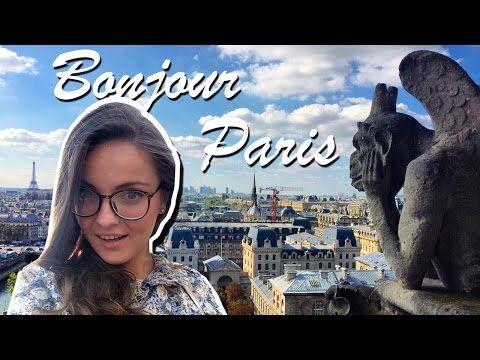 PARIS VLOG #1 Смотровая Нотр-Дам де Пари, Мост Искусств, парижское метро, наш отель - YouTube