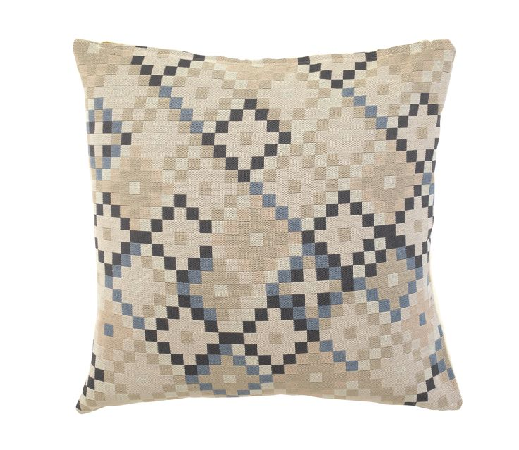Neutral in colour but bold in design, this stylish geometric cushion is the best of both worlds. Priced at £14