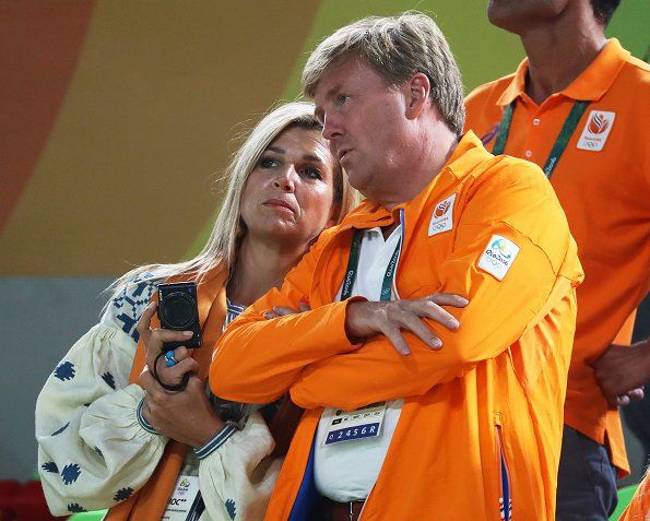 The Dutch Royal Family at the Rio Olympic Arena
