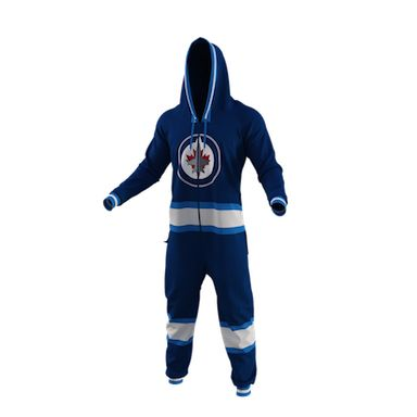 Winnipeg Jets Team Uniform Onesie - yes I want one of these!!!! I'm a size small!!!
