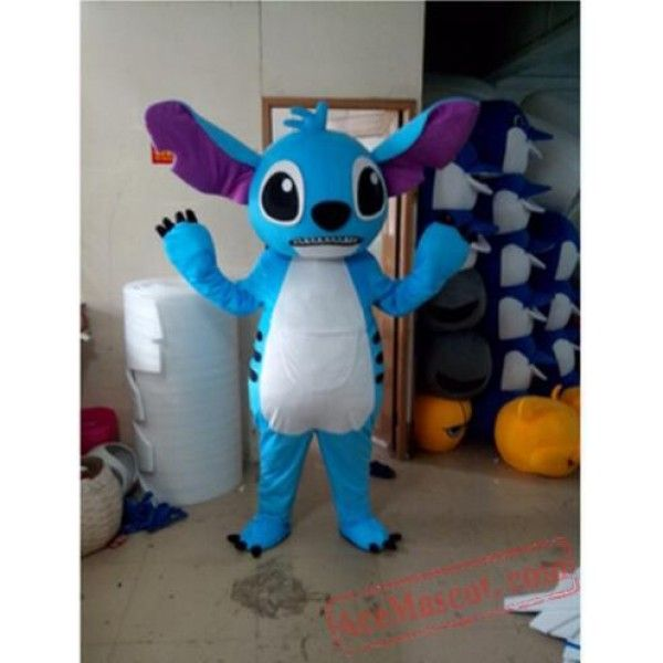 Stitch Of Lilo /& Stitch Mascot Costume Halloween Party Dress Outfit  Free Ship