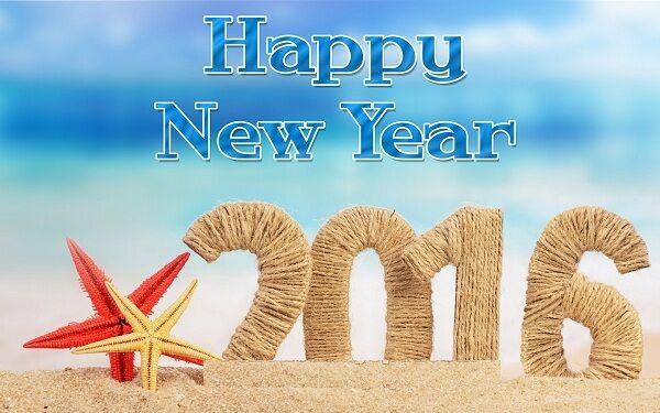 2016 happy new year: