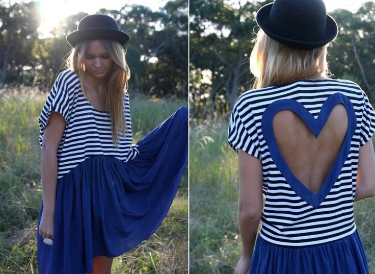 we heart it.: Fashion, Style, Clothes, So Cute, Dresses, Heart Cut, Closet, Cut Outs, Shirt