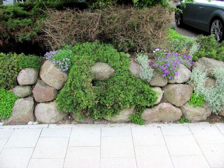 17 besten Vorgarten Bilder auf Pinterest Gartenideen, Verandas - ideen gestaltung steingarten