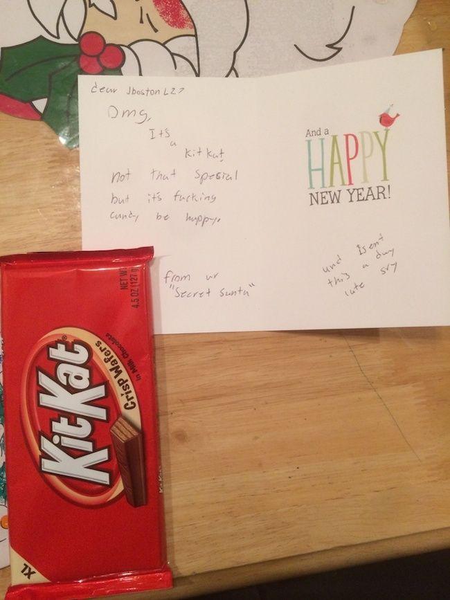 Reddit S Secret Santa Gift Exchange Produced Some Pretty Secret Santa Gift Exchange Santa Gifts Reddit Gifts
