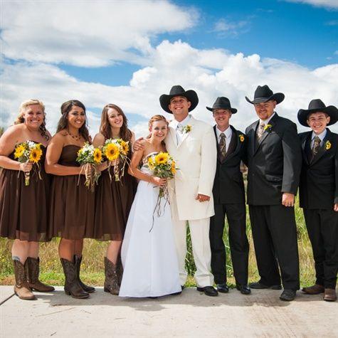 A Country Camo Wedding In Pagosa Springs Co