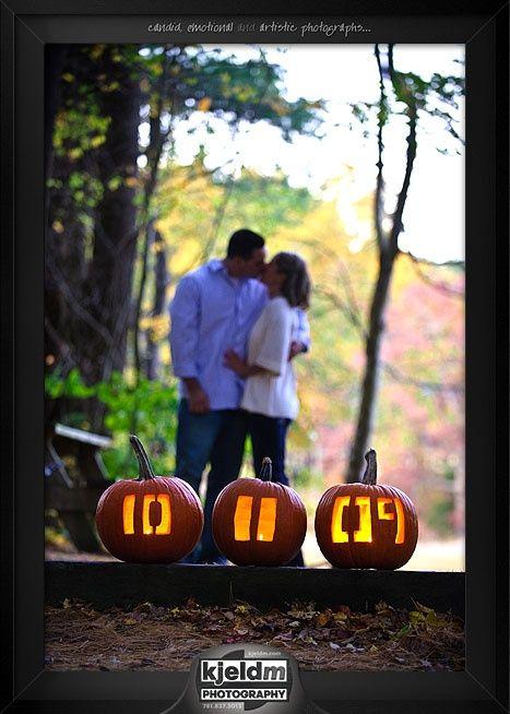 Cute for an October wedding!