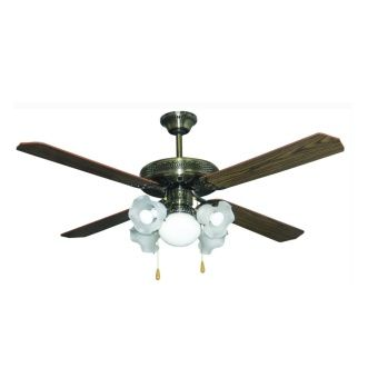 """Buy American Heritage AHCF-ECON 52"""" Ceiling Fan (Antique) online at Lazada Philippines. Discount prices and promotional sale on all Fans. Free Shipping."""