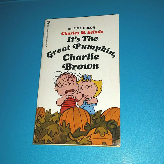 Check out this item in my Etsy shop https://www.etsy.com/ca/listing/553979779/vintage-its-the-great-pumpkin-charlie