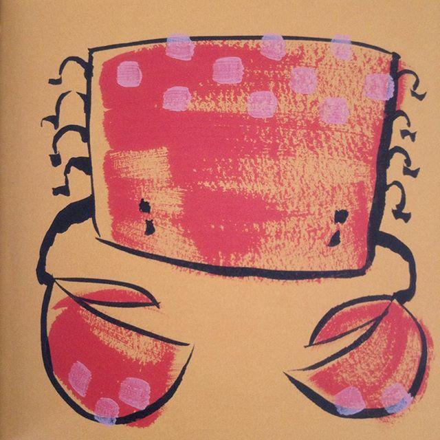 #crab#krebs#book#crabbycrab#chrisraschka#buch#crabby#illustration#zeichnung#art#artwork#kunst#animal#tier#nature#natur#schere#pictures#bild#drawing#painting#malen#punkte#childrenbook#kinderbuch#kinder#children#design#designart#artist