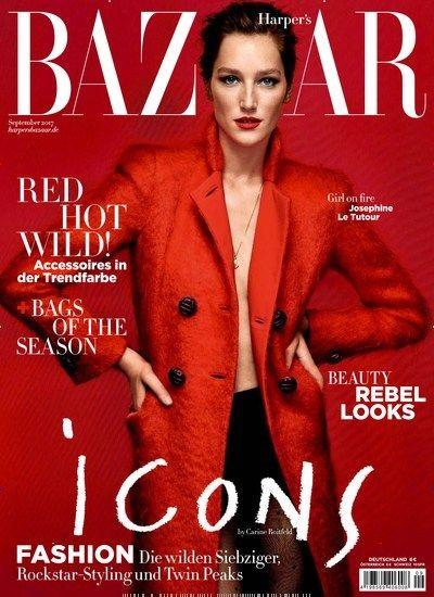 Icons - #Fashion: Die wilden #Siebziger, #Rockstar-#Styling und Twin Peaks Jetzt in Harpers Bazaar.  #Mode #Icon #Trend
