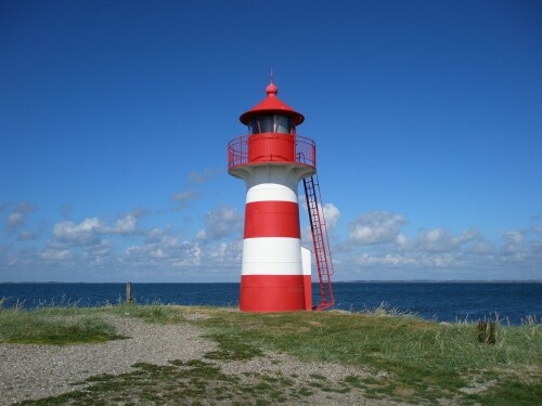 My favorite little lighthouse - Struer, Denmark