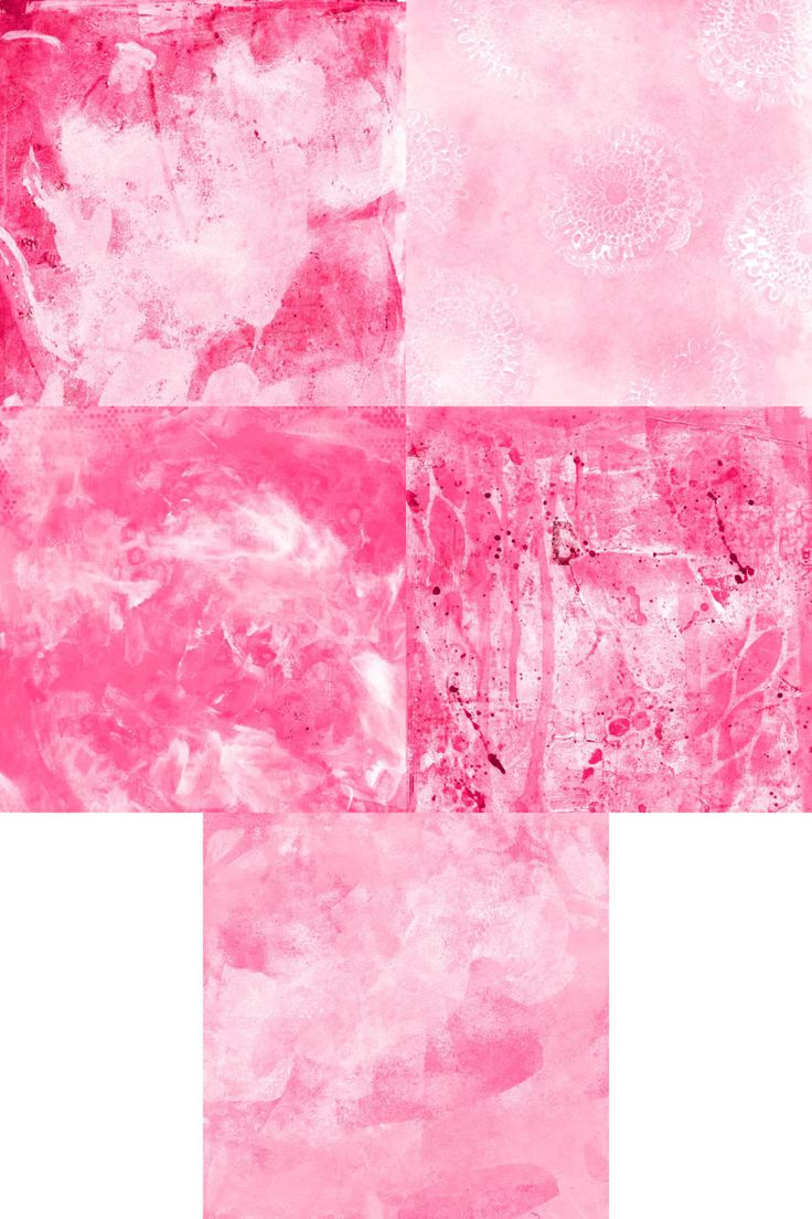 Pink Background Papers Set 1 of 2 by StudiosuzybAustralia on Etsy