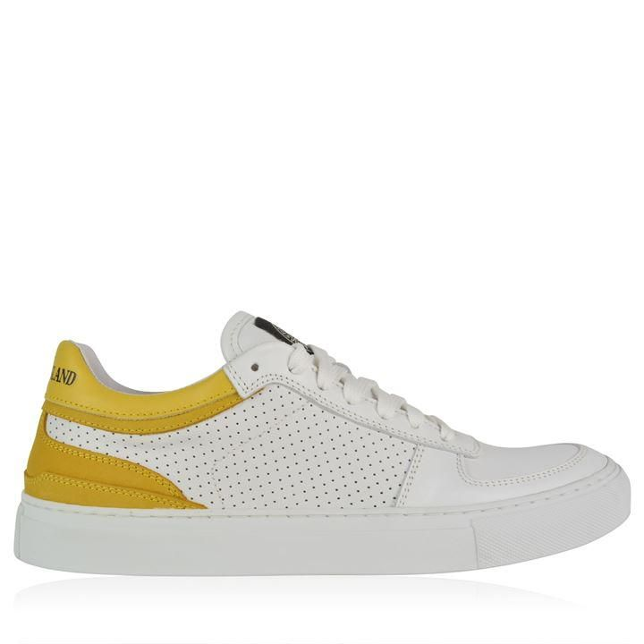 Stone Island | Perforated Patch Trainers