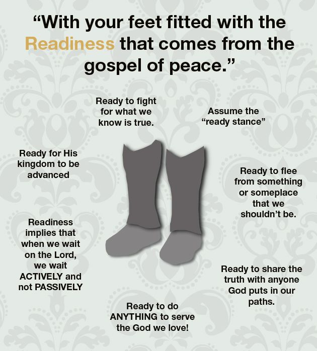 Readiness Use with http://missionbibleclass.org/1b0-new-testament/new-testament-part-2/acts-epistle-selections/the-christian-armour/