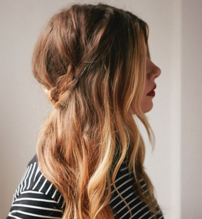 Hairstyles For Long Hair S In Hindi : Best 25 second day hairstyles ideas on pinterest 5 minute