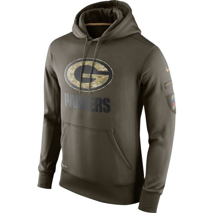 Green Bay Packers 2015 Nfl Nike Salute To Service Sideline Team Hoodie Xl - Nwt from $99.99