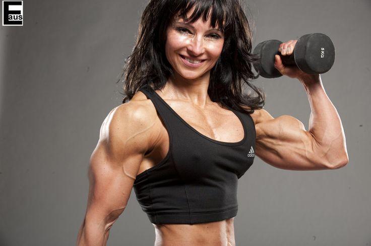 Big bicep female bodybuilder by edinaus on deviantART ...