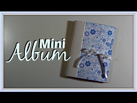 Tutorial: Mini Album rápido y fácil   Scrapbook   Mundo@Party - YouTube