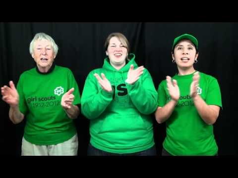 Song - Shake Another Hand - Girl Scout Songs