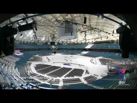 BC Place 5-day Conversion Time-Lapse - YouTube