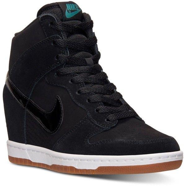 wedge heel sneakers nike