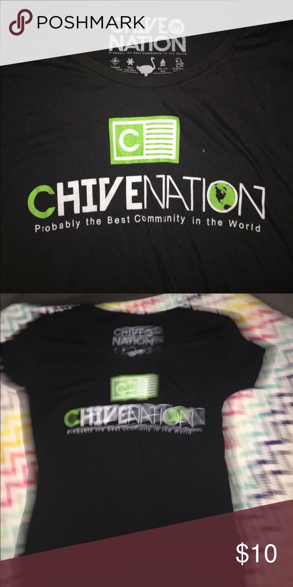 Chive shirt Women's size medium :) the chive Tops Tees - Short Sleeve