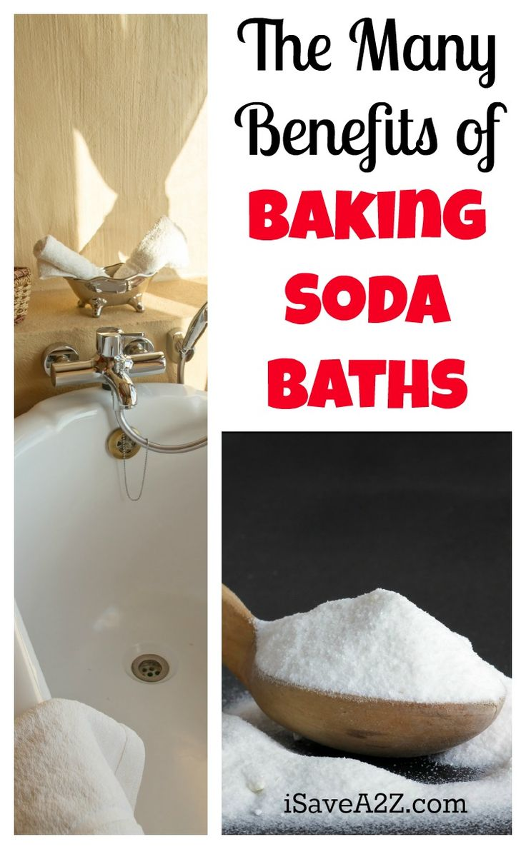 The Many Benefits of Baking Soda Baths