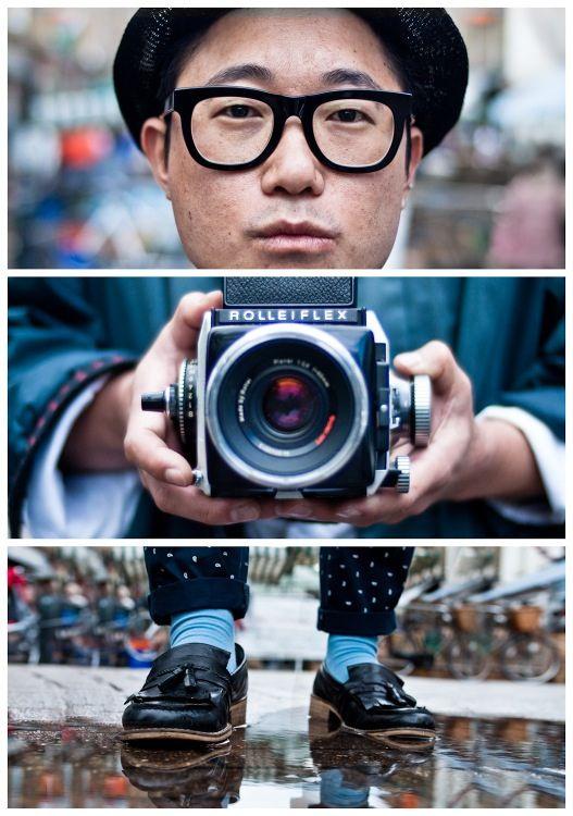 Triptychs of Strangers by Adde Adesokan... LOVE 'em!!!