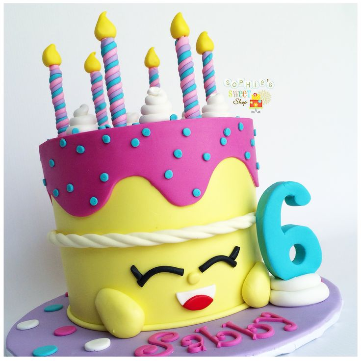 shopkins wishes cake [instagram: @sophiesweetshop and sophiesweetshop.com in carson, california]