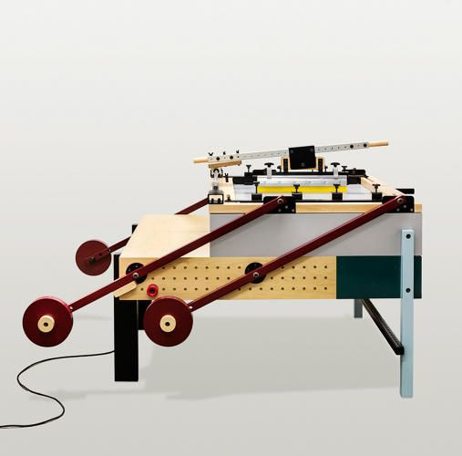 3 | A Screen-Printing Machine That Looks Like An Old Bauhaus Poster | Co.Design | business + design